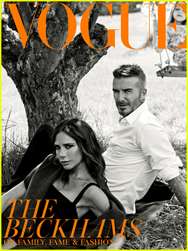 David & Victoria Beckham Are a Hot Couple on Subscribers Cover of 'British Vogue'!