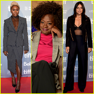 Viola Davis & 'Widows' Cast Attends Press Conference at TIFF