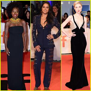 Viola Davis, Michelle Rodriguez, & Elizabeth Debicki Premiere 'Widows' at TIFF!