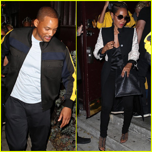 Will Smith & Jada Pinkett Smith Attend Dave Chappelle's Comedy Show!