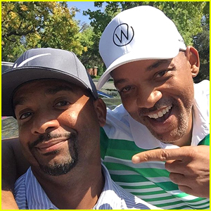 Will Smith Reunites with 'Fresh Prince of Bel Air' Co-Star Alfonso Ribeiro!