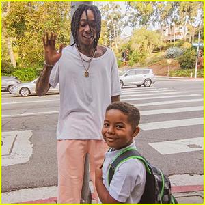 Wiz Khalifa Tells Critics to 'Chill' for Letting Son Sebastian Ride School Bus