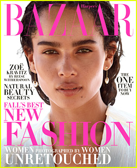 Zoe Kravitz Goes Unretouched for 'Harper's Bazaar' Cover!