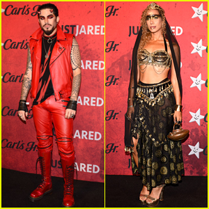 Adam Lambert & Leona Lewis Go All Out for Just Jared's Halloween Party!
