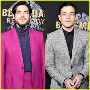 Adam Lambert Joins Rami Malek & Cast at 'Bohemian Rhapsody' NYC Premiere!