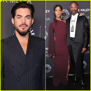 Adam Lambert Suits Up for Paley Honors In Hollywood: A Gala Tribute To Music On TV!