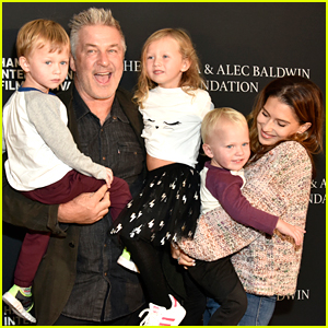 Alec & Hilaria Baldwin Bring 3 of Their 4 Kids to Their Red Carpet Appearance!