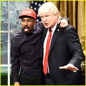 Alec Baldwin Returns to 'SNL' as President Trump to Spoof Meeting with Kanye West - Watch!