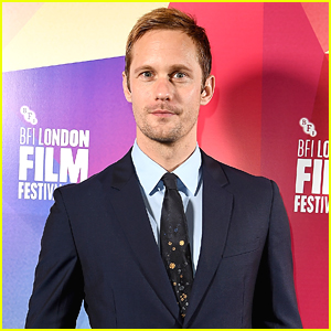 Alexander Skarsgard Suits Up for 'The Hummingbird Project' Premiere at London Film Festival