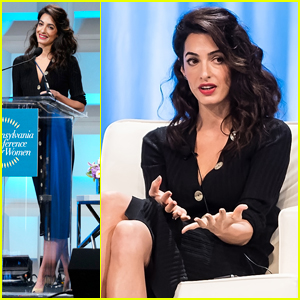 Amal Clooney Misses Royal Wedding to Headline Pennsylvania Conference for Women 2018!
