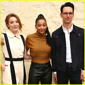 Amandla Stenberg Joins Kayli Carter & Cory Michael Smith For Breakthrough Artists Talk