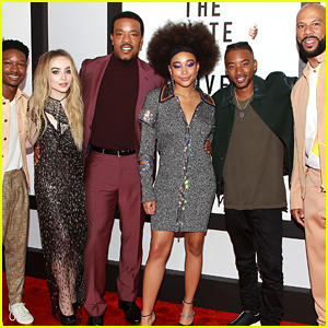 Amandla Stenberg Joins 'The Hate U Give' Cast at NYC Screening