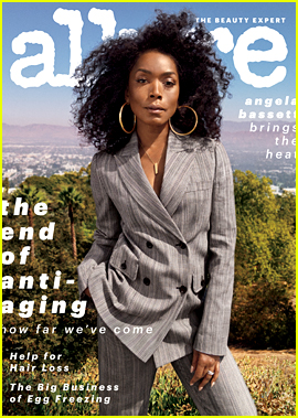 Angela Bassett Covers Allure's 'End of Anti-Aging' Issue