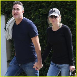 Anna Faris & Boyfriend Micheal Barrett Spend the Day Together in LA!