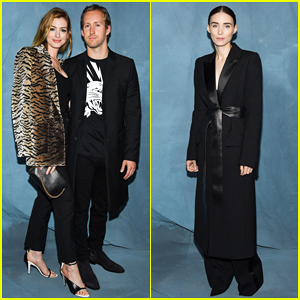 Anne Hathaway & Adam Shulman Couple Up at Star-Studded Givenchy Paris Show!