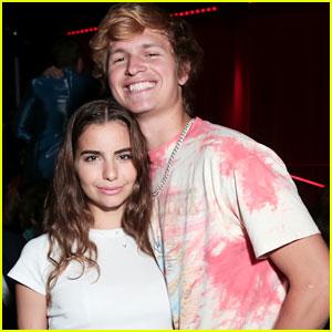Ansel Elgort & Girlfriend Violetta Komyshan Team Up for 'Studio 54' Documentary Premiere