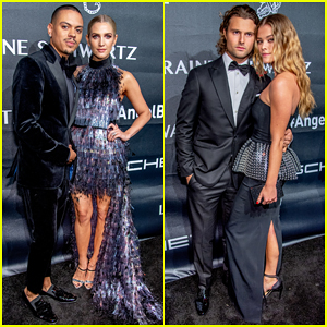Ashlee Simpson, Evan Ross & Nina Agdal Get Glam for Angel Ball 2018!