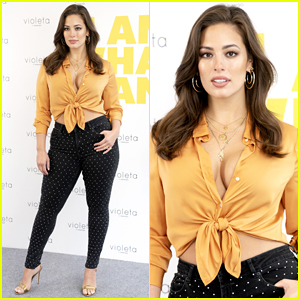 Ashley Graham Presents 'Violeta By Mango' Campaign in Madrid!