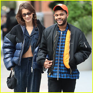 Bella Hadid & The Weeknd Are All Smiles While Strolling in NYC!