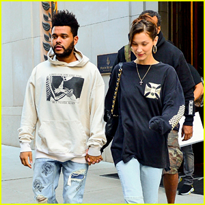 The Weeknd & Bella Hadid Walk Out Holding Hands in New York City!