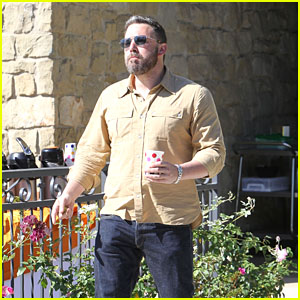 Ben Affleck Heads Out After Church in Pacific Palisades