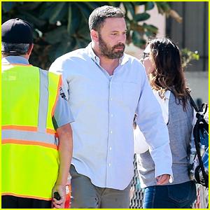 Ben Affleck Gets Back to Work on the Set of 'Torrance'