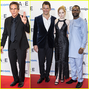 Ben Stiller, Ellie Bamber & David Oyelowo Step Out for MIPCOM Opening Ceremony 2018!