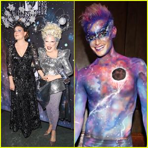 Bette Midler Hosts Cosmic-Themed Halloween Bash for New York Restoration Project!