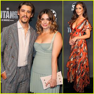 Brenton Thwaites & Girlfriend Chloe Pacey Step Out for 'Titans' World Premiere!