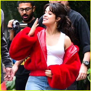 Camila Cabello Blows Kisses to Her Fans Between Brazil Shows