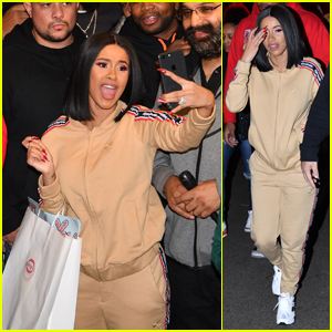 Cardi B Hands Out Coats & Shoes in Brooklyn!