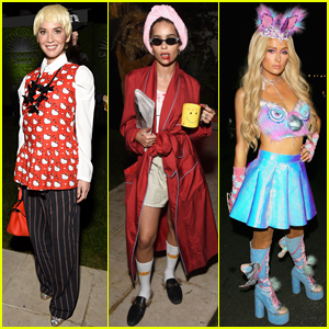 Olivia Munn Dresses as Awkwafina's 'Crazy Rich Asians' Character for Halloween Party with Zoe Kravitz & More!