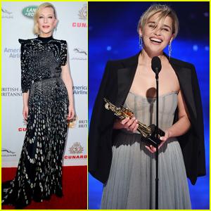 Cate Blanchett & Emilia Clarke Get Honored at British Academy Britannia Awards