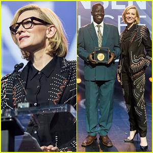 Cate Blanchett Honors South Sudanese Surgeon with 2018 Nansen Award!