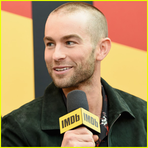 Chace Crawford Debuts Buzzcut at 'The Boy's Panel During NY Comic Con