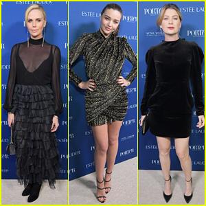 Charlize Theron, Miranda Kerr & Ellen Pompeo Celebrate Porter's Incredible Women Gala 2018!