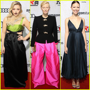 Chloe Moretz, Tilda Swinton, & Mia Goth Step Out for 'Suspiria' Premiere!
