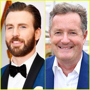 Chris Evans Slams Piers Morgan Over Photo of Daniel Craig Carrying His Baby