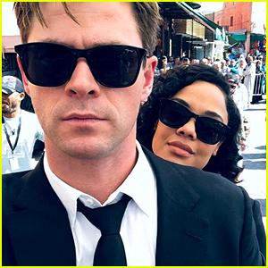 Chris Hemsworth Wraps Filming on 'Men In Black' - See His Selfies From the Set!