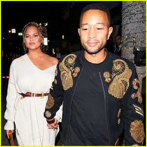 Chrissy Teigen & John Legend Enjoy a Date Night Together in Beverly Hills!