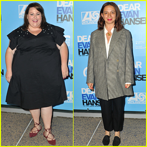 Chrissy Metz & Maya Rudolph Check Out 'Dear Evan Hansen' on Tour