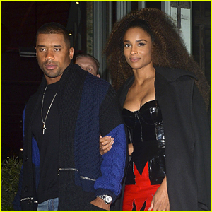 Russell Wilson & Wife Ciara Have Date Night in London Ahead of Seahawks NFL Game!
