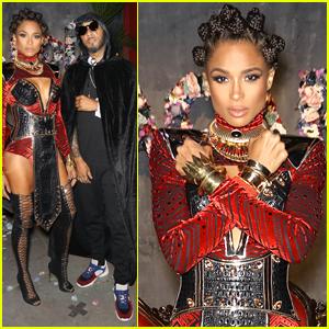 Ciara & Swizz Beatz Host Halloween Eve Party in NYC!