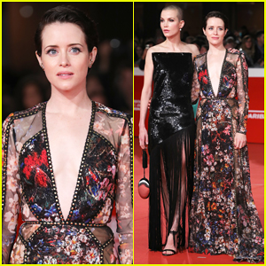 Claire Foy & Sylvia Hoeks Hit Red Carpet 'The Girl in the Spider's Web' at Rome Film Fest 2018!