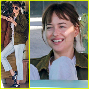Dakota Johnson Looks So Happy Hanging Out with Her Brother Jesse