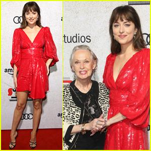 Dakota Johnson Dazzles at 'Suspiria' Premiere Alongside Grandma Tippi Hedren!