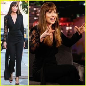 Dakota Johnson Tells 'Jimmy Kimmel' That 'Suspiria' Will Make You Feel 'Deeply Uncomfortable'