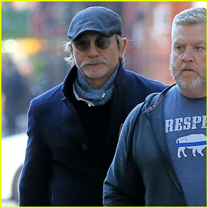 Daniel Craig Sports Mustache & Goatee While Stepping Out in NYC