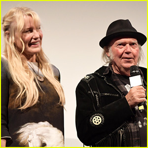 Neil Young Confirms Marriage to Daryl Hannah in a Passionate Plea to Vote in Midterm Elections