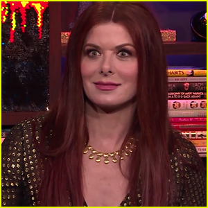 Debra Messing Chooses Whether She'd Rather Be Stuck in an Elevator With Susan Sarandon or Donald Trump - Watch!
